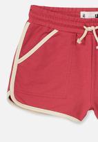 Cotton On - Nina knit short - red
