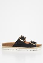 Call It Spring - Unitii sandal - black