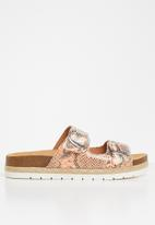 Call It Spring - Unitii sandal - coral