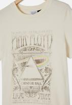 Free by Cotton On - Girls licence classic short sleeve tee - neutral