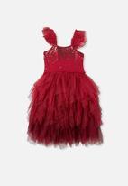 Cotton On - Iris dress up dress - red