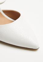 Call It Spring - Glalla heel - white