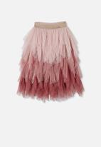 Cotton On - Tori long dress up skirt - dusty pink