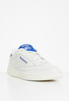 Reebok - Club c 85 mu - chalk/humble blue/radiant red