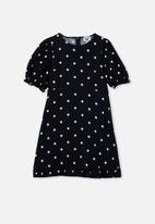 Free by Cotton On - Paris short sleeve dress - indian ink