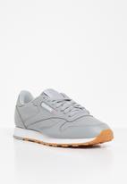 Reebok - Classic leather mu - true grey & white