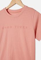Free by Cotton On - Girls classic short sleeve tee - pink
