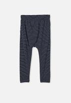Cotton On - Lennie pant - navy & white
