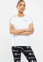 Champion - Legacy crew neck T-shirt - white