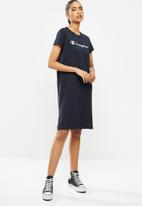 Champion - Legacy short sleeve dress - navy