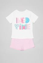 POP CANDY - Girls pyjamas set - milk & pink
