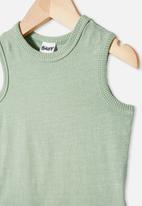 Cotton On - Loki singlet bubbysuit - green