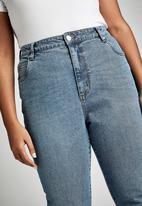 Cotton On - Curve taylor mom jean - boston blue