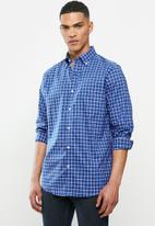 Nautica - Windsurf plaid shirt - blue & white