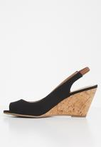 Call It Spring - Aristata wedge - black