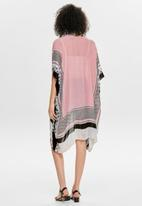 ONLY - Bianca weaved kimono - calypso coral