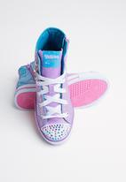 Skechers - Step up-glitzy kicks - purple & blue