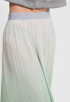 ONLY - Dippy skirt - green