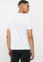 Replay - Basic jersey 30/1 tee - white
