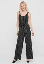 ONLY - Felia sleeveless jumpsuit - black