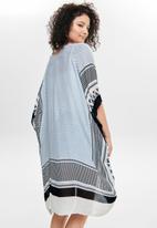 ONLY - Blanca weaved kimono - cloud dancer