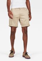 G-Star RAW - Bronson straight 1\2 shorts - dune