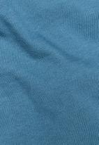 G-Star RAW - Raw. graphic slim r short sleeve tee - cricket blue