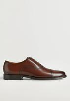 MANGO - Shoes madrid - medium brown