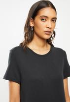 ONLY - Willow life short sleeve dress - black