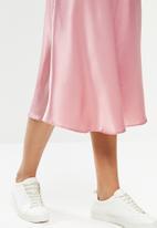 STYLE REPUBLIC - Satin skirt - pink