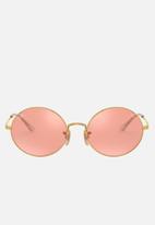 Ray-Ban - Ray-ban square sunglasses  - photo pink mirror grey