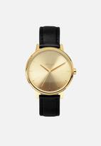 Nixon - Kensington leather - gold