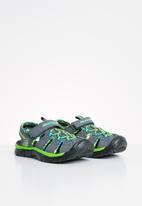 Skechers - Relix- trophix - charcoal & lime