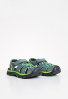 Skechers - Relix trophix - charcoal & lime