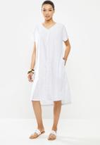 AMANDA LAIRD CHERRY - Linda tunic - white