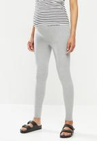 Missguided - Maternity missguided leggings - grey