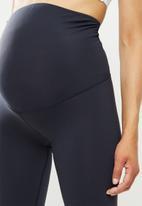 Cotton On - Maternity core capri over belly tight - core navy