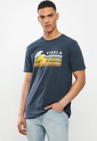 Vissla  - Reprise tee - blue
