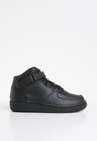 Nike - Nike force 1 mid (ps) - black/black