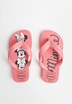 Havaianas - Kids top disney flip flop - pink