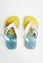 Havaianas - Kids minions flip flop - yellow citric & white