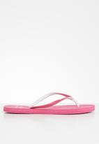 Samba Sol - Pink mescula flip flop - dark pink