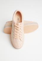 Sissy Boy - All over lace sneaker  - pink