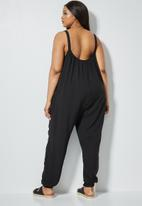 Superbalist - Easy fitting jumpsuit - black