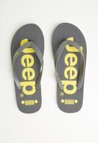 JEEP - Serene flip-flop - charcoal