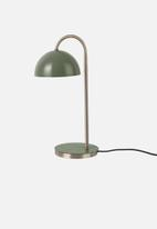 Present Time - Dome table lamp - green