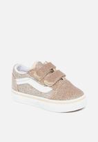 Vans - Td old skool v - (glitter) brazilian sand & true white