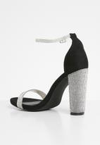Sissy Boy - In glitz heel - black