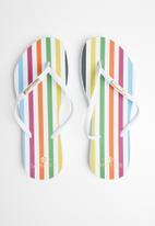 Samba Sol - Paradigm flip flop - white