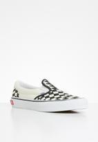 Vans - Classic slip-on twist - warp checker & classic white